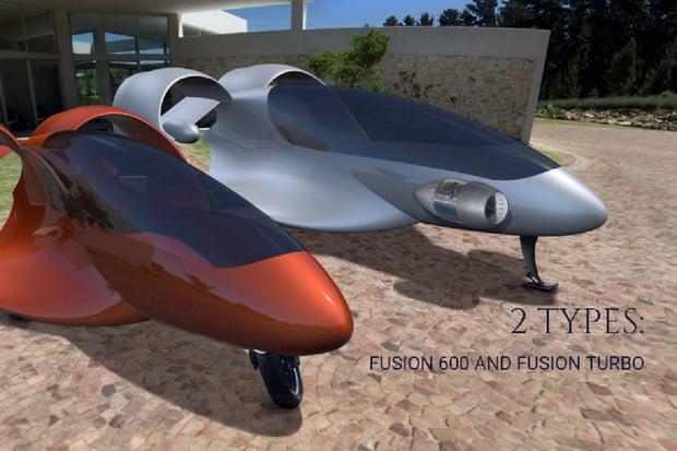 Fusion-Drone, nová dimenze mobility
