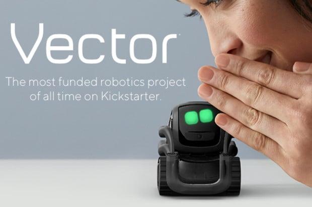 Roztomilý Anki Vector jako by z oka vypadl robotům z animovaných filmů od Pixaru