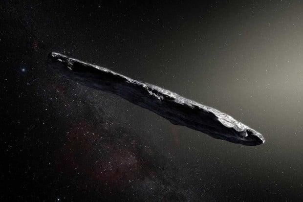 Je mezihvězdný objekt Oumuamua ve skutečnosti vesmírné plavidlo?