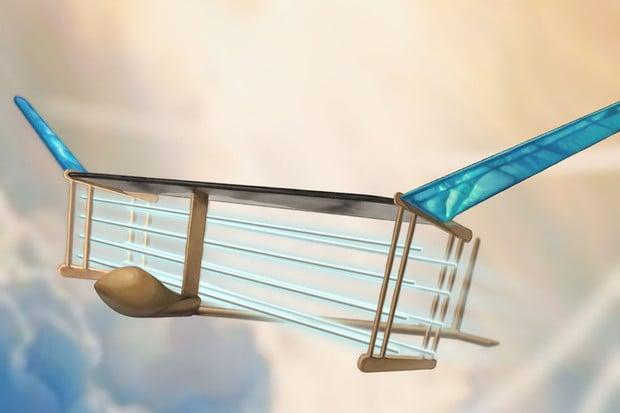 Neslyšný letoun s iontovým pohonem našel inspiraci v kultovním seriálu Star Trek