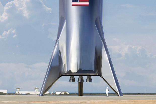 Elon Musk opět tweetuje. Tentokrát láká na vzhled kosmického plavidla Starship