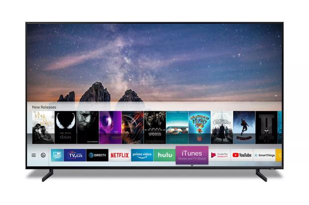 Chytré televize od Samsungu obdrží podporu AirPlay 2 a iTunes již na jaře tohoto roku