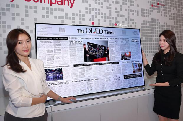 LG slibuje na CESu další rolovatelné televize