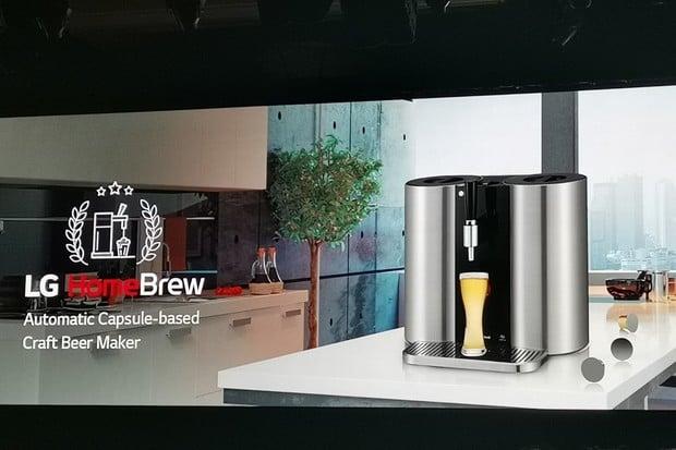 Domácí pivovar LG HomeBrew realitou. Funguje na kapsle
