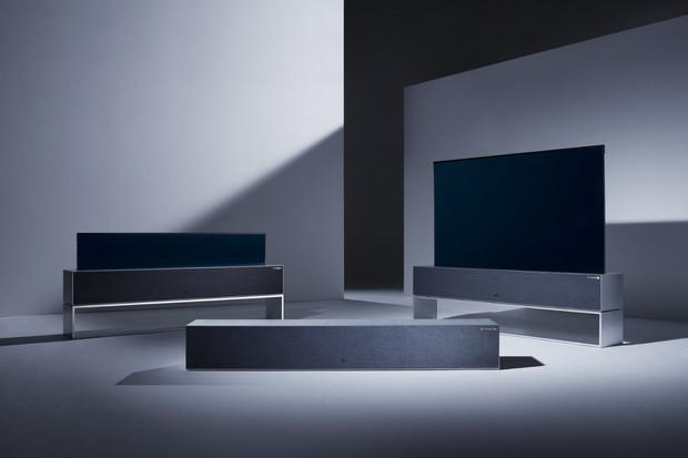 Živě z CES 2019: LG představilo první rolovatelnou OLED televizi na světě