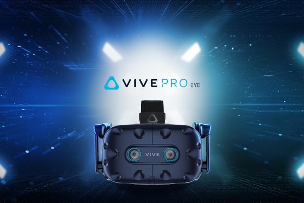 Profesionální systém virtuální reality HTC Vive Pro Eye jde dnes do prodeje