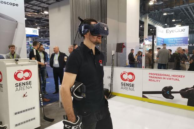 Je libo virtuální hokejové kolbiště? Sense Arena a naše první dojmy z CES 2019