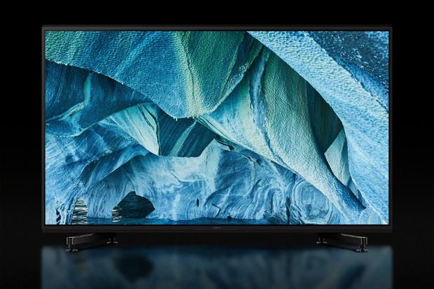 Sony odhalilo svou první 8K televizi. Může mít až skoro stopalcovou úhlopříčku