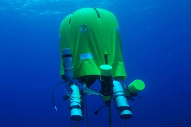 Ocean Space Habitat je podvodní stan pro potápěče s ubytováním až na šest hodin