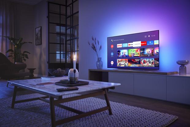 Nové televizory Philips pro rok 2019 nabídnou Android TV Pie. Ale až po aktualizaci