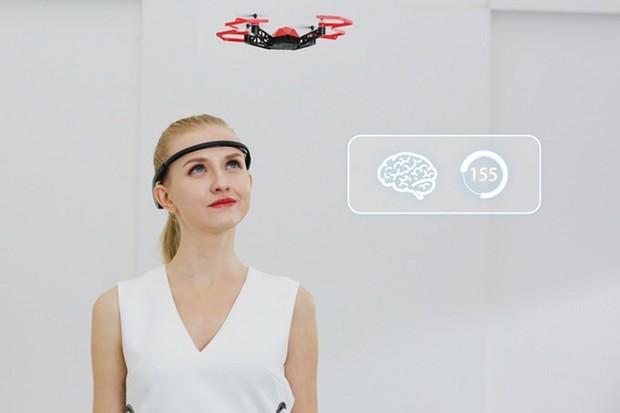 Dron ovládaný myšlenkami? Možná realita nedaleké budoucnosti