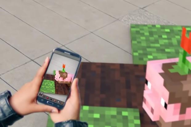 Chystá se Minecraft v rozšířené realitě
