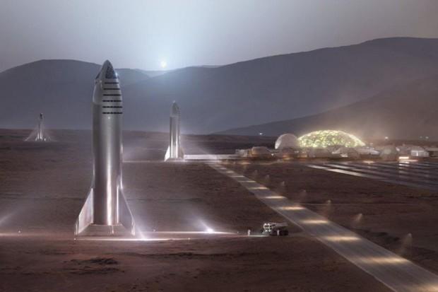 SpaceX má plán, jak dobude Mars. Její inženýři dovolenou zřejmě jen tak nedostanou