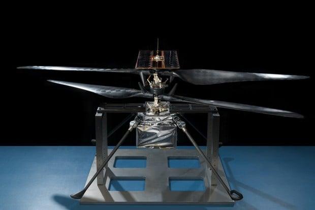 NASA testuje drony pro průzkum Marsu