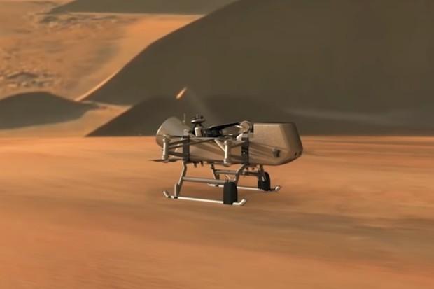 NASA pošle na Titan svůj dron