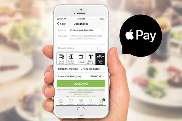 Od včerejška můžete rohlík u Rohlik.cz zaplatit i přes Apple Pay