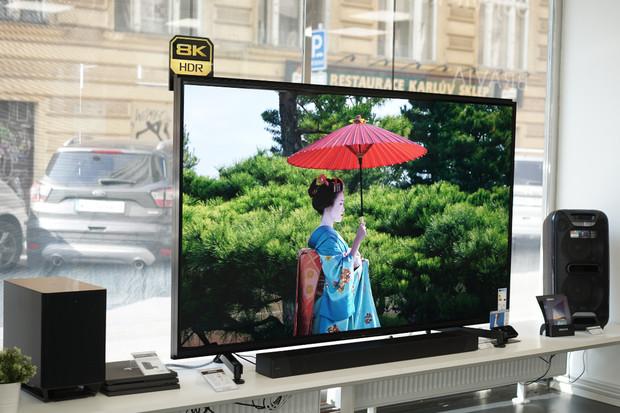 Prohlédněte si s námi fantastický 8K televizor ZG9 MASTER Series od Sony naživo