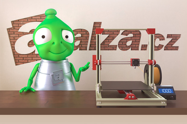 Alza chce dostat 3D tisk do škol