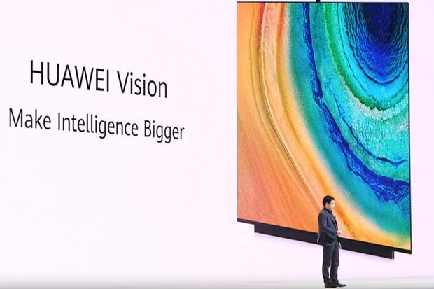 Huawei popisuje svůj televizor jako chytrý reproduktor s obřím displejem