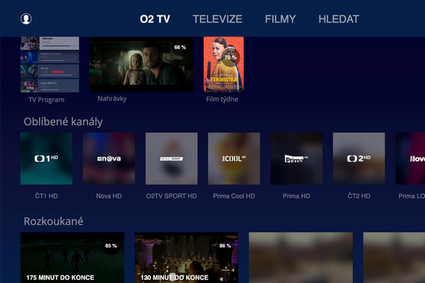 O2 TV má aplikaci pro televize Samsung. V plánu je i řešení pro Android TV a Apple TV