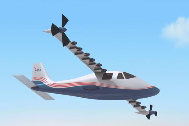 """Je elektřina budoucnost létání? NASA ukázala prototyp """"letadla na baterky"""""""