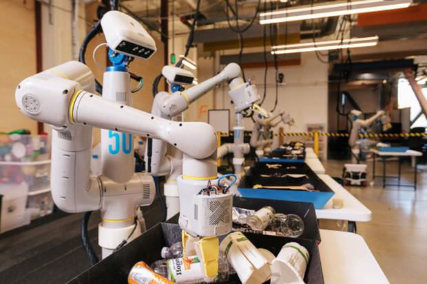 Alphabet to zase zkouší s roboty a učí je třídit odpad