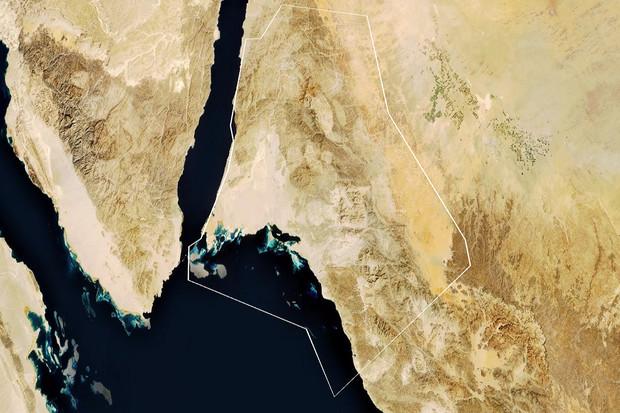 Saudská Arábie má v plánu postavit obří město za 500 miliard dolarů