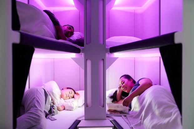 S leteckou společností Air New Zealand se pohodlně natáhnete i v Economy třídě