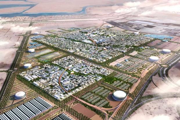 Vzorem měst budoucnosti je futuristické Masdar City