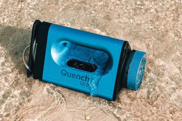 QuenchSea přemění slanou vodu na sladkou jednoduše a levně