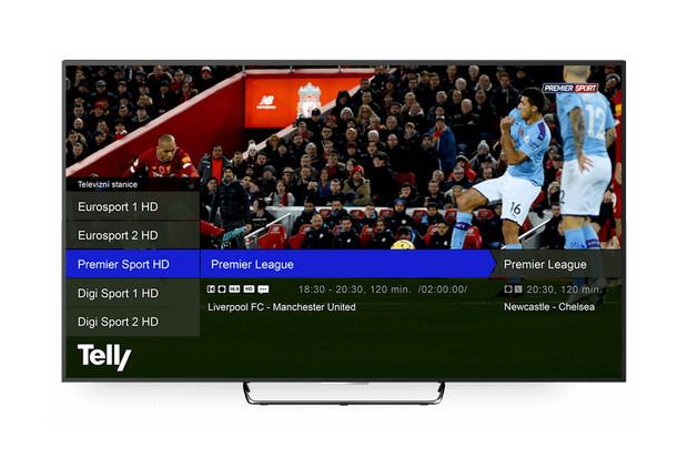 Internetová TV Telly nasazuje kodek H.265