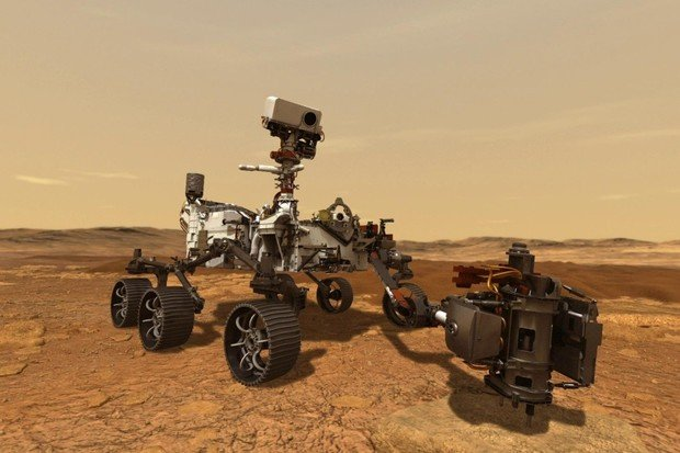 Přistání výzkumného vozidla Perseverance na Marsu se blíží! Buďte u toho s námi!