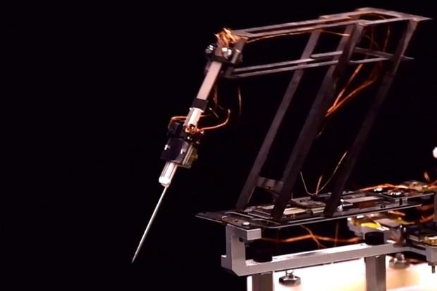 Robot inspirovaný origami zvládne operovat s neuvěřitelnou přesností