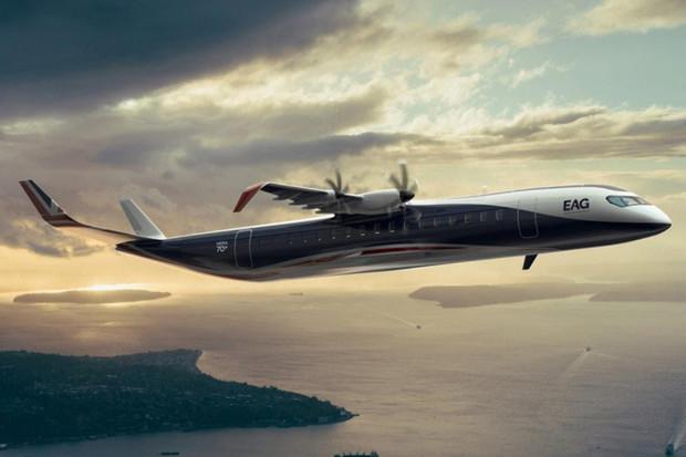 První hybridní elektrické letadlo pro komerční využití odhaleno
