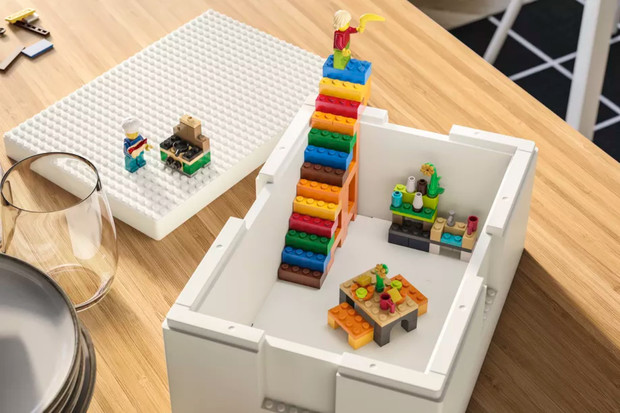 Skandinávská synergie: spolupráce LEGO aIKEA dala vzniknout (ne)obyčejné krabici