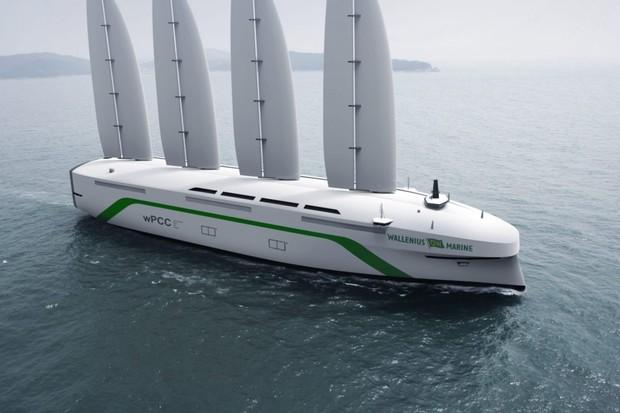 Švédové staví větrem poháněnou nákladní loď. Ano, plachetnici