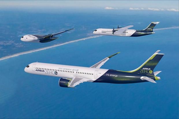 Na světě jsou koncepty bezemisních dopravních letounů ZEROe. Vzlétnou v roce 2035
