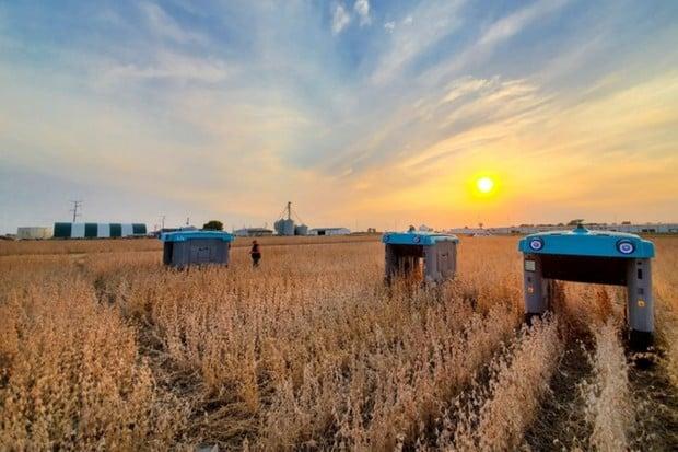 Alphabet ukazuje vizi zemědělství budoucnosti. Na pole vyjedou roboti