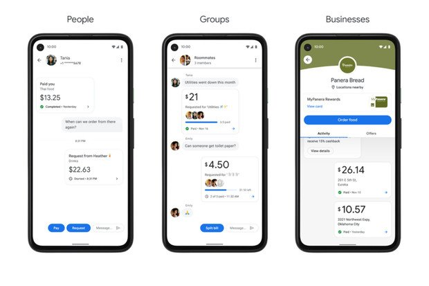 Nová podoba Google Pay více připomíná chatovací aplikaci než platformu pro platby