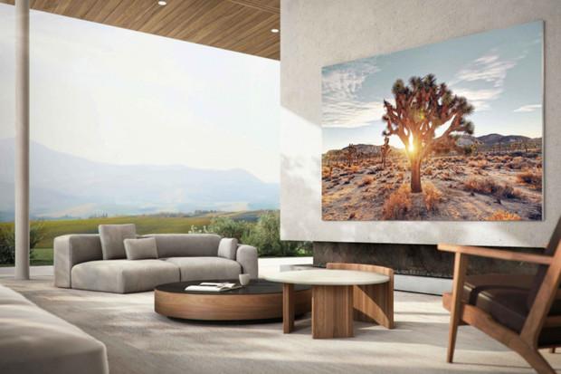 Samsung představuje novou verzi The Wall! Tentokrát má MicroLED displej 110 palců