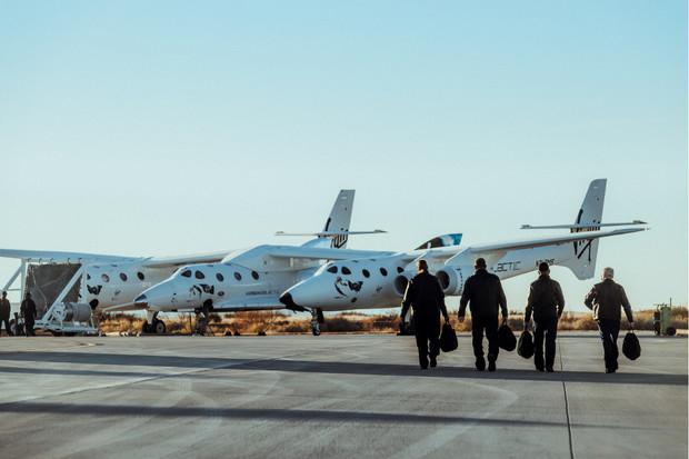 Testovací let kosmického raketoplánu SpaceShipTwo skončil selháním motoru