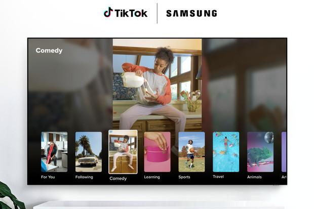 TikTok TV je aplikace pro chytré televize Samsung