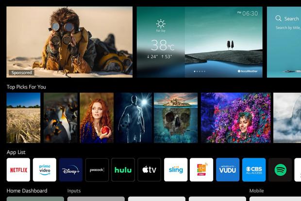 LG ukázalo aktualizovaný webOS 6.0 pro televize a upgradovaný ovladač