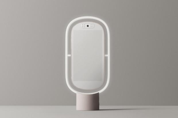 Chytré zrcadlo Lumini PM poradí s péčí o pleť