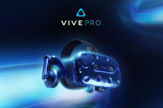 HTC přivezlo na CES nové VR brýle Vive Pro a bezdrátový adaptér