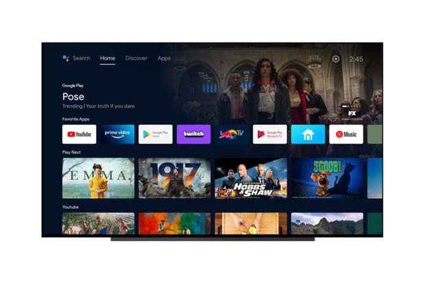 Aktualizované uživatelské rozhraní Android TV se teď podobá Google TV