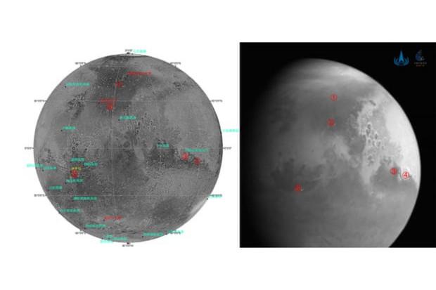 Čínská sonda Tianwen-1 poslala na Zem první snímek Marsu
