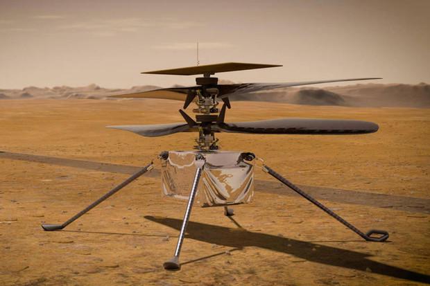 Datum prvního letu helikoptéry Ingenuity je stanoveno