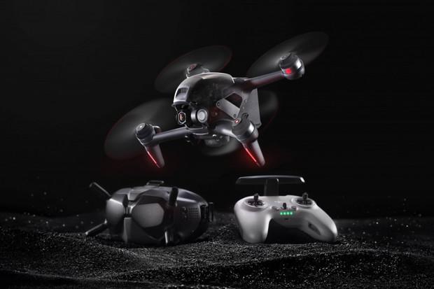 DJI představilo FPV dron, který létá rychlostí až 140 km/h
