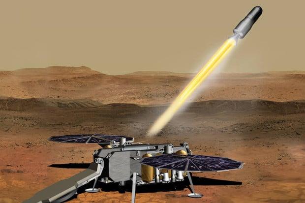 NASA podepsala smlouvu na dopravu vzorků marsovské horniny s firmou Northrop Grumman